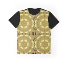 gold abstract Graphic T-Shirt