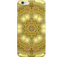 gold abstract iPhone Case/Skin