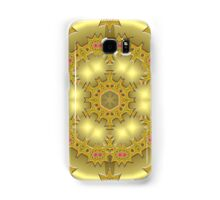 gold abstract Samsung Galaxy Case/Skin