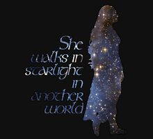 She walks in Starlight... Unisex T-Shirt