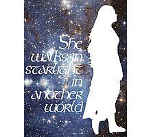 She walks in Starlight... Photographic Print