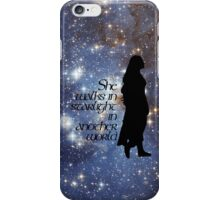 She walks in Starlight... iPhone Case/Skin