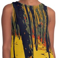 Red Forest Contrast Tank