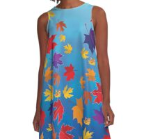 Autumn colors :) A-Line Dress