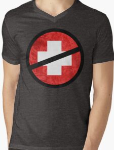 The Purge cross Mens V-Neck T-Shirt