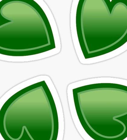 4chan leaves Sticker