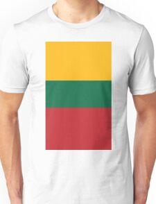 Lithuania Flag Unisex T-Shirt