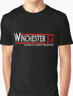 Winchester - Always keep fighting Graphic T-Shirt