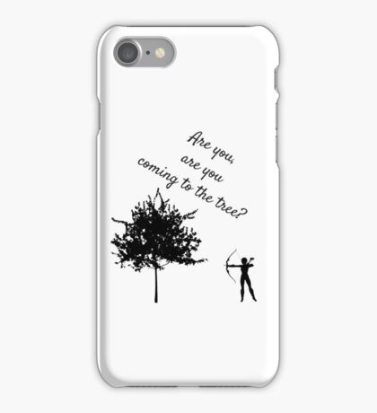The Hunger Games, The Hanging Tree iPhone Case/Skin