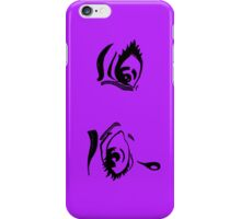 Hand Drawn Pop Art Eyes in Ink iPhone Case iPhone Case/Skin