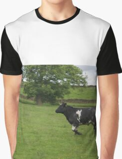 The Charging Cow Graphic T-Shirt