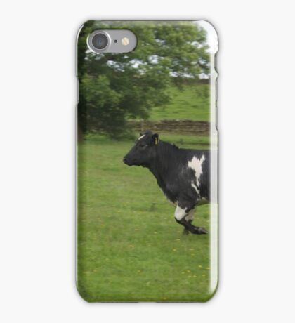 The Charging Cow iPhone Case/Skin