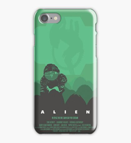 Ridley Scott's Alien Print Sigourney Weaver as Ripley iPhone Case/Skin