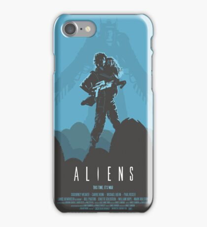 Ridley Scott's Aliens Print Sigourney Weaver as Ripley iPhone Case/Skin