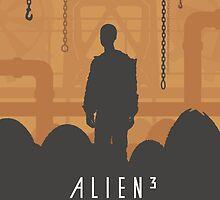 Ridley Scott's Alien³ Print Sigourney Weaver as Ripley by Creative Spectator