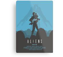Ridley Scott's Aliens Print Sigourney Weaver as Ripley Metal Print