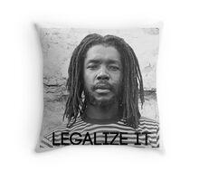 Legalize it Throw Pillow