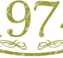 Vintage 1974 Birth Year Sticker