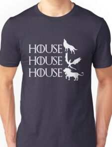 Game of Thrones - Stark - Targaryen - Lannister Unisex T-Shirt