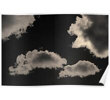 Cloudscape XVIII Toned Poster
