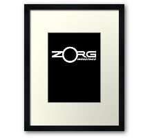 Zorg Industries (The Fifth Element) Framed Print