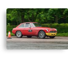 Three Castles Classic Welsh Trial - MGC Canvas Print