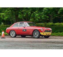 Three Castles Classic Welsh Trial - MGC Photographic Print
