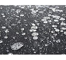 Soft-Top Rain-Drops Photographic Print