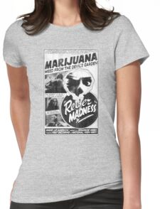 Vintage Reefer Madness Womens Fitted T-Shirt