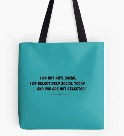 Just Words Collection 10# Tote Bag