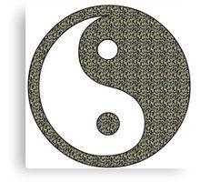 Yoga Buddha Style Canvas Print