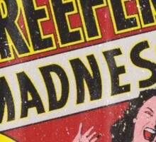 Vintage Reefer Madness Sticker