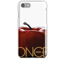 Once upon a time apple iPhone Case/Skin