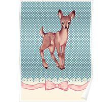 Polka dot bambi Poster