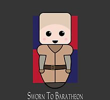 Brienne of Tarth. by Mark Gillett