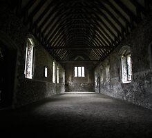 Inside Duxford Chapel by Matt Keil