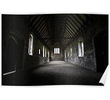 Inside Duxford Chapel Poster