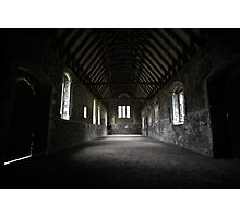 Inside Duxford Chapel Photographic Print