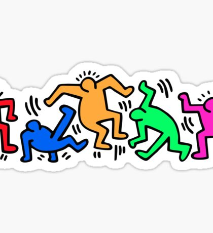 Keith Haring Dance Sticker