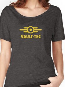 Fallout Vault-Tec Logo Women's Relaxed Fit T-Shirt