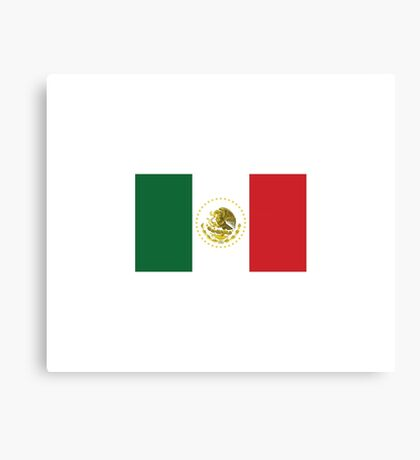 Mexican Flag Canvas Print