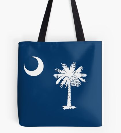 Flag of South Carolina - Authentic version Tote Bag