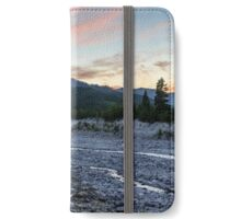 Mount St. Helens Sunset, South Smith Creek Trailhead  iPhone Wallet/Case/Skin