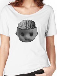 Cupie brains Women's Relaxed Fit T-Shirt