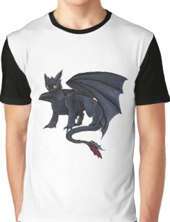 Toothless w/ Copics Graphic T-Shirt