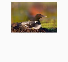 Common loon on nest T-Shirt