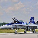 CF-18 Hornet Demonstration Team by jules572