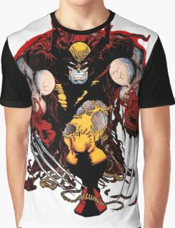 Wolverine Classic Brown Graphic T-Shirt