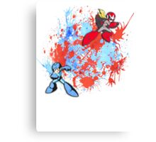 Mega & Proto Canvas Print