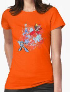 Mega & Proto Womens Fitted T-Shirt